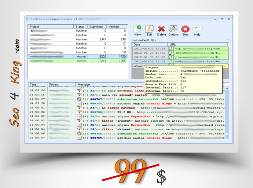 GSA Search Engine Ranker 11.13