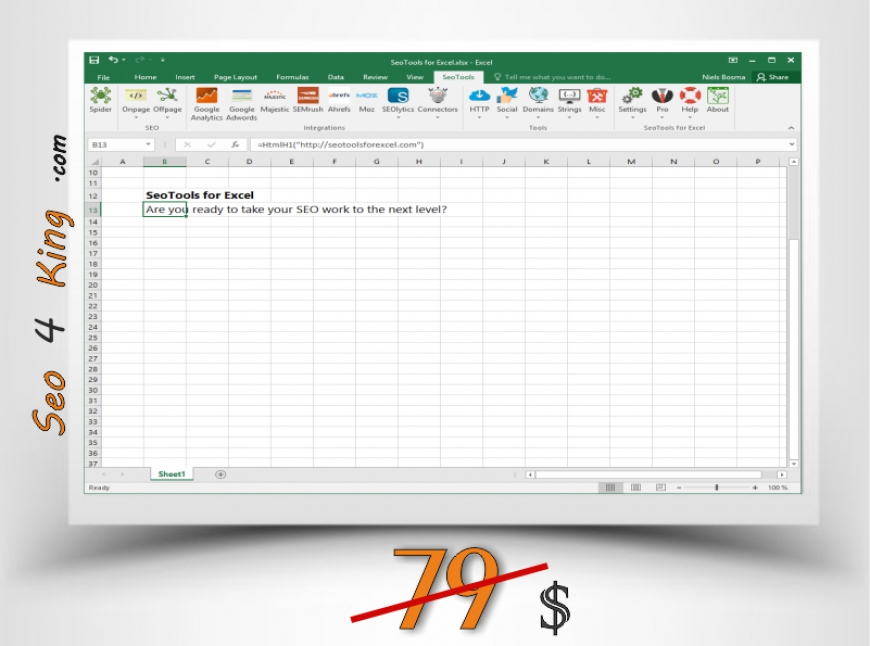 SeoTools Pro for Excel 5.1.4