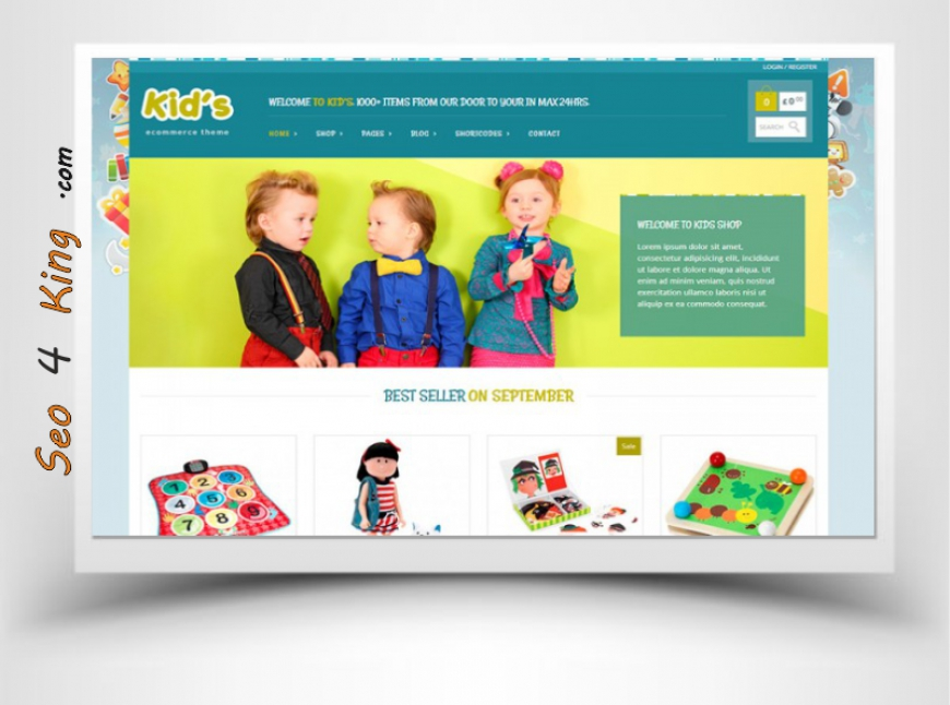 Kids Shop Theme