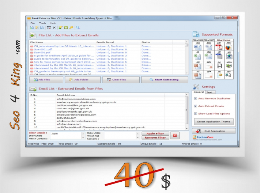 Email Extractor Files 5.1