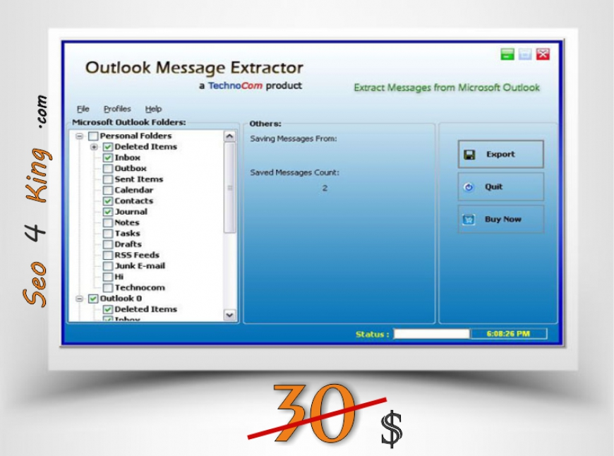 Outlook Message Extractor 4.1